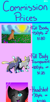 Commission Prices Paypal/Points (OLD) by Uniquely--Beautiful