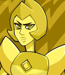 Yellow Diamond by SketchyOwlet