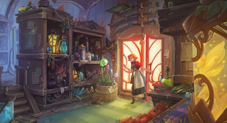 Magic shop by Nieris