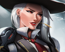 Ashe by Crispinity