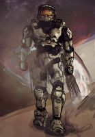 Master Chief by FallenDaw