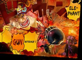 One Piece Chapter 870+ LUFFY SANJI VS BIG MOM ! by Amanomoon