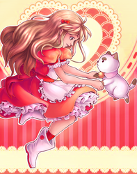 Bee and Puppycat by A-star-G