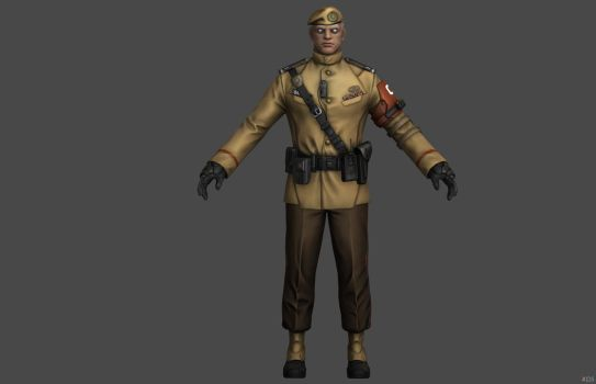 'Ghost in the Shell: First Assault' Bato Uniform by lezisell