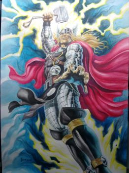 Thor Gouache by 777thorman