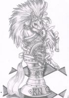 knight chess piece by Inspired-By-Boredom