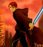 Jedi Ben Skywalker by LittleZion