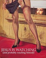 Jesus Is Watchuing You, Too by lisa-im-laerm