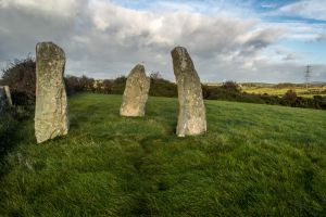 Llanchfel Standing Stones by Princess-Amy