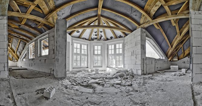 Building Site - HDR Panorama by theKovah