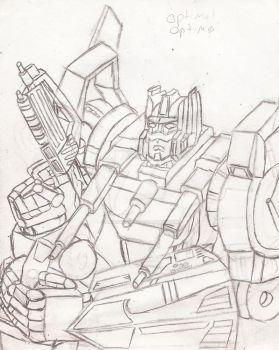 League of the Convoys: Optimal Optimus by UnicronHound