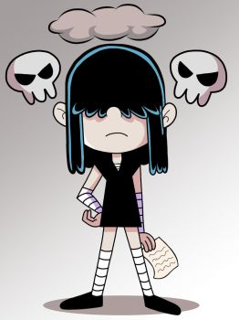 Lucy Loud (The Girl In Black) by Alexander-LR