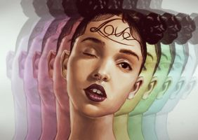 FKA Twigs by TheAngriestPirate