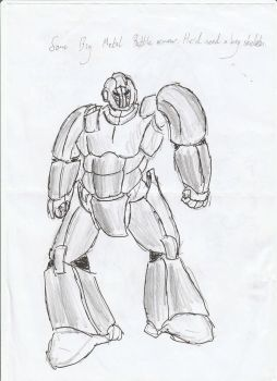 Heavy Battle Suit by incoming-101