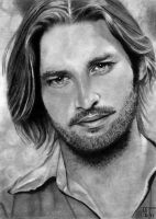 Sawyer (LOST) / Josh Holloway by a-nanaz