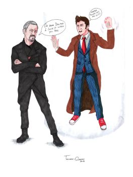 Request: Tenth Doctor getting captured by allonsyx