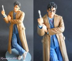 David Tennant Doctor Who model by Pyramidcat