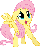 Scared Fluttershy by 90Sigma