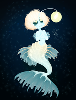.:: Deep Sea Angel ::. by OpalesquePrincess