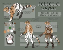Eclectic 'Rayne' Ref 2013 by Painted-Shadow