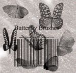 Butterfly Brushes by Ethereal-Seraphim