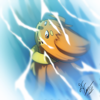 Lethal the Buizel by Xael-The-Artist