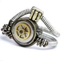 Steampunk Ring gears by CatherinetteRings