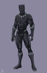 Black Panther by phil-cho