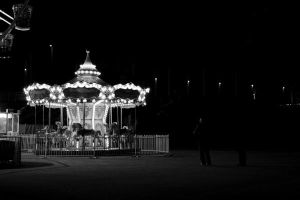 Carousel at Night by MattLew