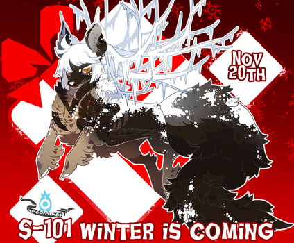 { Stygian Advent Day 1 } Winter is Coming by Zoomutt