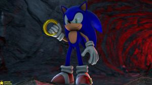 [SFM Sonic 4K] LD Sonic Pose Recration by AwesomeSuperSonic