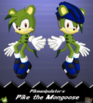 AT: Pike the Mongoose by Hazard-the-Porgoyle