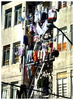 Drying Clothes by Some-Punk-Next-Door