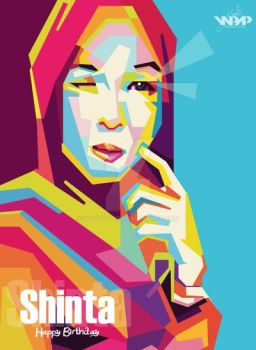 SHINTA MUTIA WPAP BY MZHIE by Indocolor