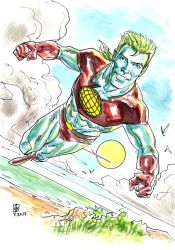 Captain Planet by deankotz