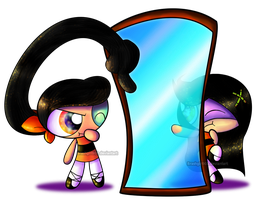 PC- Bamboo and Trance...Mirrors? by MissEmmyJay