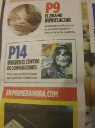 I am on newspaper! by wolfpr