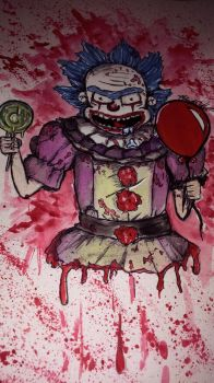ITS *BURP* Pennywise Rick by KaylaMarie831