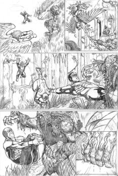 X-Men First Class Issue #8 pg. 3 by LipGlossary