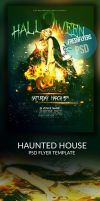 PSD Halloween Party Flyer Template by ImperialFlyers