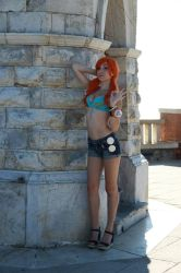nami from one piece  by kamira-art-cosplay