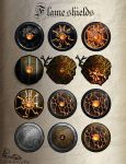 Flame shields by Hiems07