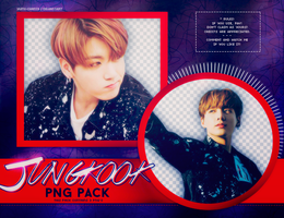 PNG PACK: JungKook (BTS) #6 by Hallyumi