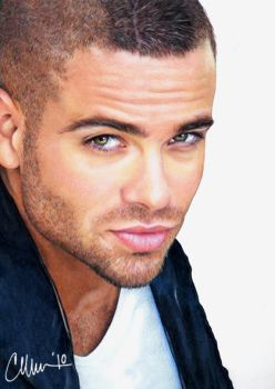 Mark Salling - drawing by Live4ArtInLA