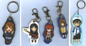 Have some more keychains by jentsukase