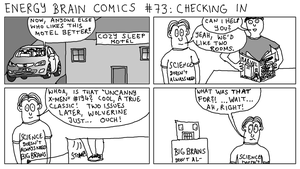 Energy Brain Comics #73: Checking In by EnergyBrainComics