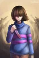 What I've done... (Undertale, Frisk) by New-House