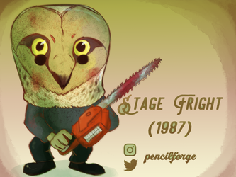 Stage Fright Horror Funko Pop Design by Wooga