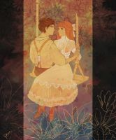 Mary and Dickon by palnk