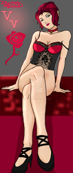 miss VV from vampire the masqurads blood lines by Xgamer23